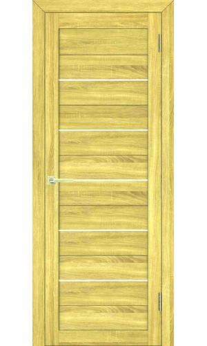 Дверь межкомнатная экошпон цвет дуб натуральный модель 01
