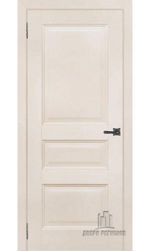 Ульяновская межкомнатная дверь Аликанте 2 слоновая кость RAL 9001 глухая