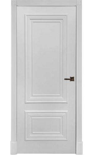 Белая дверь эмаль Престиж 1/2 глухая Ульяновские двери
