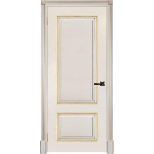 Ульяновские двери Британия ф-ка Двери Регионов цвет слоновая кость с золотом