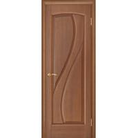 Ульяновские двери Regidoors Мария натуральный шпон анегри темный тон 74 глухое
