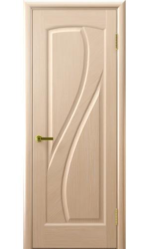 Ульяновские двери Regidoors Мария натуральный шпон беленый дуб глухое