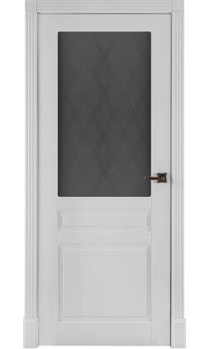 Ульяновские двери Прага остекленная белая эмаль ф-ка Двери Регионов