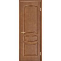 Ульяновские двери Анастасия натуральный шпон анегри темный тон 74 глухое