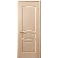Ульяновские двери  Анастасия натуральный шпон беленый дуб глухое