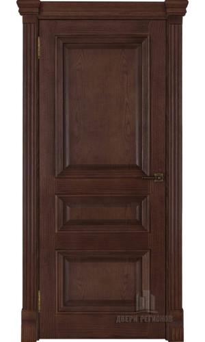 Ульяновские двери Regidoors Барселона натуральный шпон бренди глухое