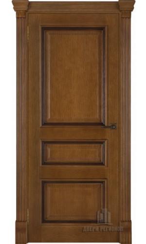 Ульяновские двери Regidoors Барселона натуральный шпон дуб антико глухое
