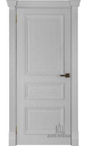 Ульяновские двери Regidoors Барселона натуральный шпон перла глухое