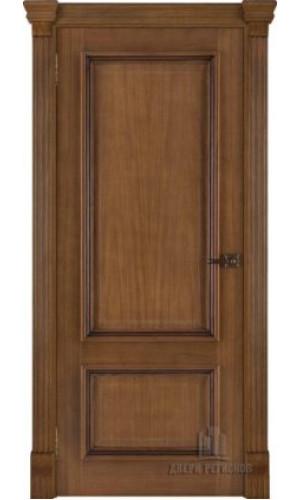 Ульяновские двери Regidoors Корсика натуральный шпон дуб антико глухое