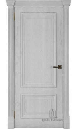 Ульяновские двери Regidoors Корсика натуральный шпон перла глухое