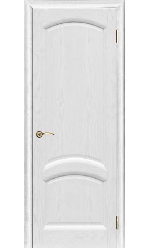 Ульяновские двери Regidoors Лаура натуральный шпон ясень жемчуг глухое