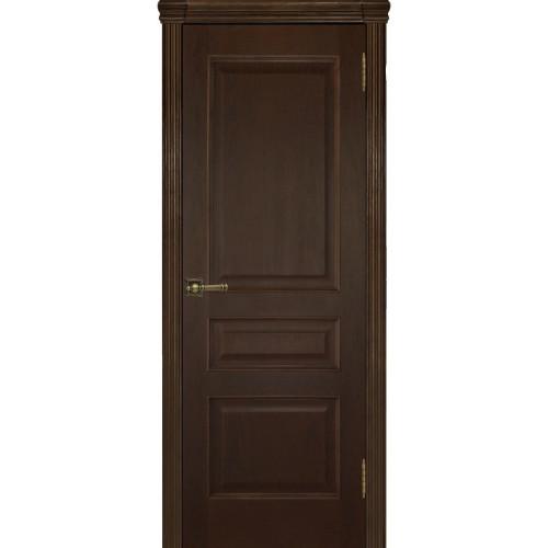 Ульяновские двери Regidoors Милан шпон натуральный орех тон 2 глухое