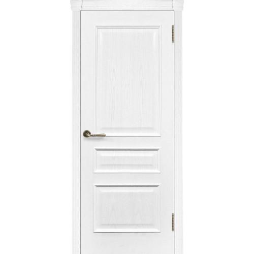 Ульяновские двери Regidoors Милан шпон натуральный ясень жемчуг глухое