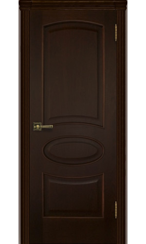 Ульяновские двери Regidoors Оливия шпон натуральный орех тон 2 глухое