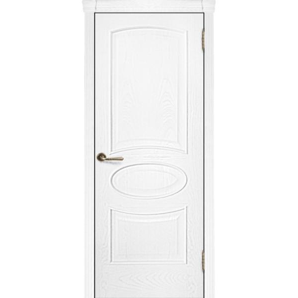 Ульяновские двери Regidoors Оливия шпон натуральный ясень жемчуг глухое