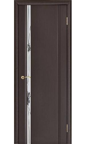 Ульяновские двери Regidoors Стелла 1 натуральный шпон венге с зеркалом