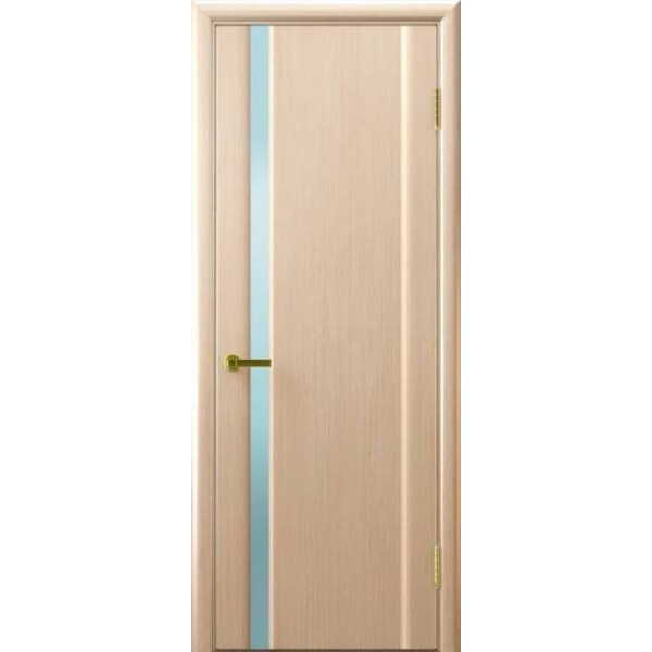 Ульяновские двери Regidoors Техно 1 натуральный шпон беленый дуб остекленное