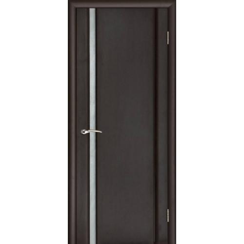 Ульяновские двери Regidoors Техно 1 натуральный шпон венге остекленное