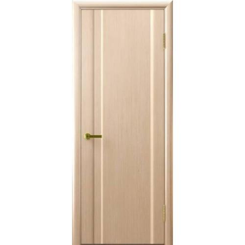 Ульяновские двери Regidoors Техно натуральный шпон беленый дуб глухое