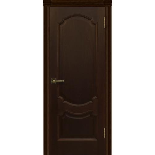 Ульяновские двери Регионов Монако шпон натуральный орех тон 2 глухое