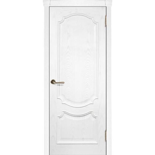 Ульяновские двери Регионов Монако шпон натуральный ясень жемчуг глухое