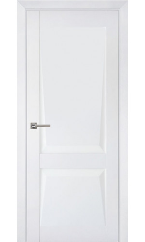 Дверь межкомнатная Перфекто 101 Белый бархат Глухая