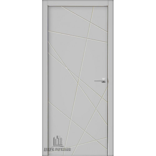 Дверь межкомнатная Стокгольм Эмаль белая Глухая