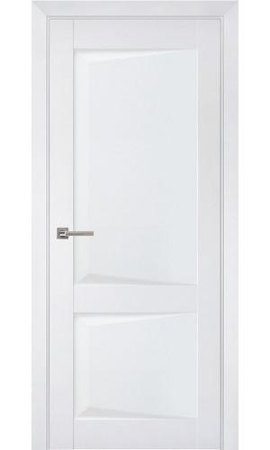 Дверь межкомнатная Перфекто 102 Белый бархат Глухая