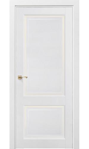 Дверь Мадрид 201 Снежная королева Остекленная -