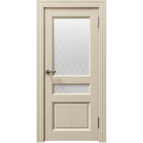 Дверь Сорренто Sorrento 80014 Керамик Серена Остекленная