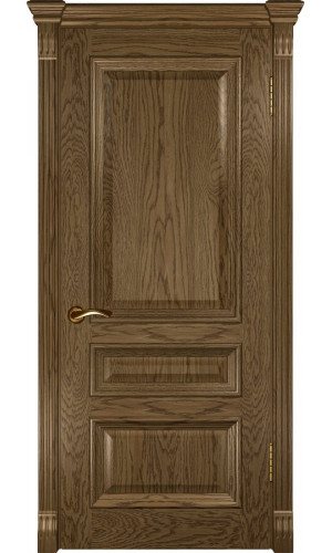 Межкомнатные двери Фараон-2 глухая Светлый мореный дуб