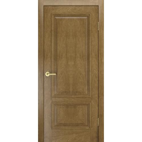 Дверь Лондон  шпон, межкомнатная, цвет дуб янтарный, глухая
