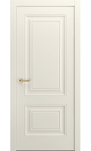 Версаль-1Ф Ульяновские двери эмаль RAL 9010 слоновая кость глухая
