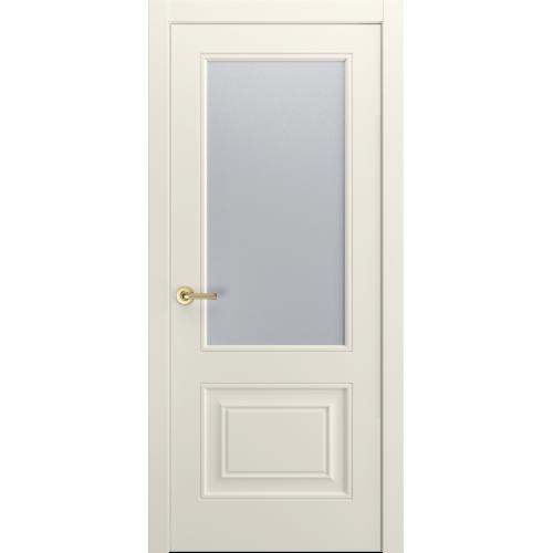 Версаль-1Ф Ульяновские двери эмаль RAL 9010 остекленная
