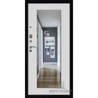 Панель для входной двери Зеркало обрамление сандал светлый