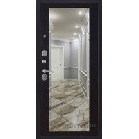 Панель для входной двери Зеркало окантовка венге