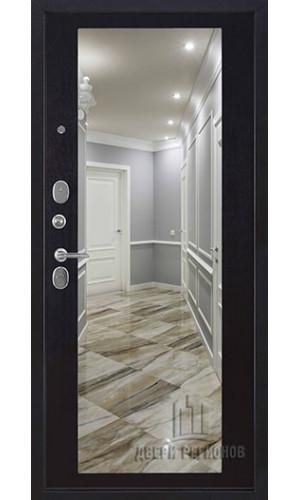 Панель для входной двери Зеркало окантовка венге -