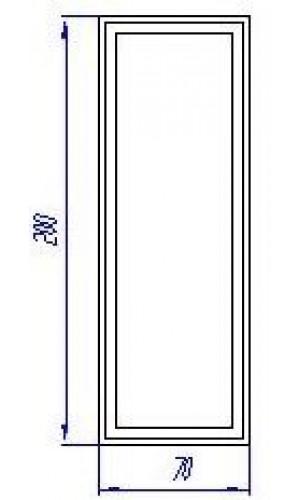 Подпятник Finezza эмаль
