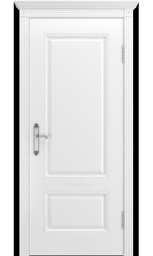 Дверь Аккорд В1 белая эмаль глухое - Межкомнатные двери