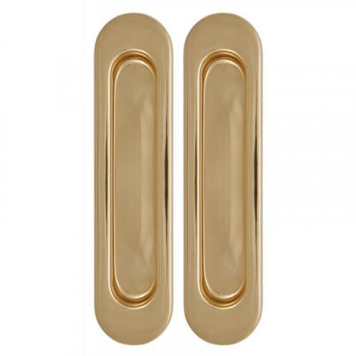 Ручка для раздвижной (подвесной) двери купе золото/матовое золото