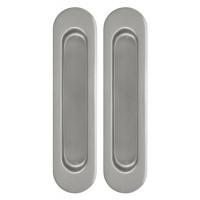 Ручка для раздвижной (подвесной)  двери купе хром/никель