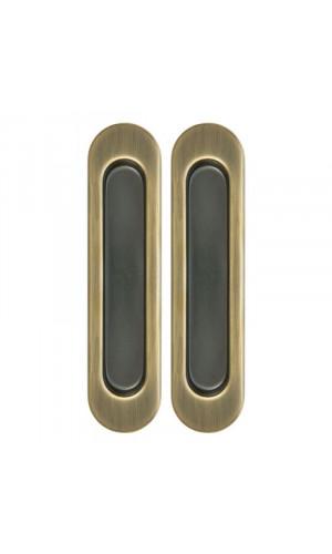 Ручка для раздвижной (подвесной) двери купе бронза