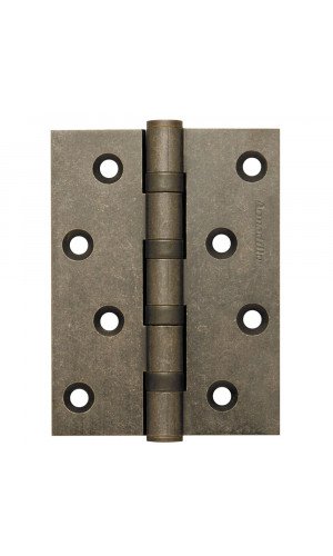 Петля универсальная Armadillo латунная100x75x3 AS цвет античное серебро