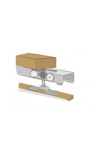 Комплект фурнитуры для подвесной двери купе на 1 полотно