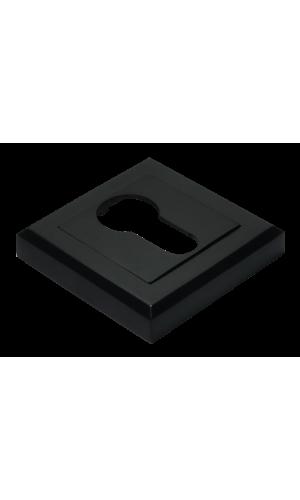 Накладка на цилиндр квадратная цвет черный