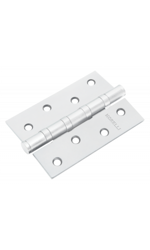 Петля стальная Morelli универсальная MS 100X70X2.5-4BB W Цвет - белый 1шт -