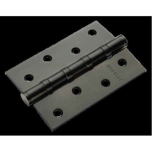 Петля стальная Morelli универсальная MS 100X70X2.5-4BB цвет черный 1шт