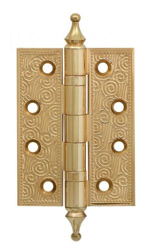 Петля латунная Armadillo (Армадилло) Castillo CL 500-A4 102x76x3,5 IG Итальянское золото 1шт
