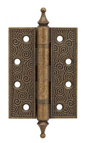 Петля латунная Armadillo (Армадилло) Castillo CL 500-A4 102x76x3,5 OB Античная бронза 1шт