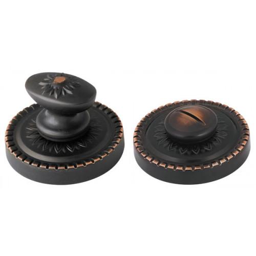Ручка поворотная Armadillo (Армадилло) WC-BOLT BK6/CL ABL-18 Темная медь